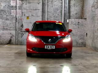 2016 Suzuki Baleno EW GLX Turbo Red 6 Speed Sports Automatic Hatchback.