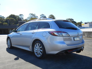 2012 Mazda 6 GH1052 MY12 Touring Silver 5 Speed Sports Automatic Wagon