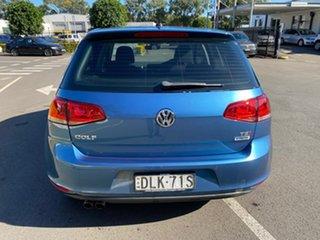 2016 Volkswagen Golf VII MY17 92TSI DSG Trendline Blue 7 Speed Sports Automatic Dual Clutch