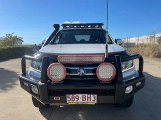 2018 Holden Colorado RG MY18 LTZ Pickup Crew Cab White/111218 6 Speed Sports Automatic Utility