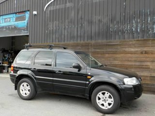 2004 Ford Escape ZB Limited Black 4 Speed Automatic SUV.