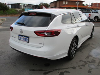2018 Holden Commodore ZB RS Sportswagon White 9 Speed Automatic Sportswagon