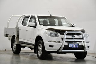 2015 Holden Colorado RG MY16 LS Crew Cab Silver 6 Speed Manual Cab Chassis