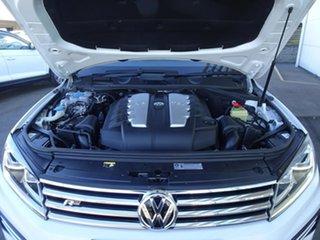 2015 Volkswagen Touareg 7P MY16 V8 TDI Tiptronic 4MOTION R-Line Pure White 8 Speed Automatic Wagon