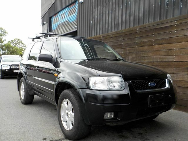 Used Ford Escape ZB Limited Labrador, 2004 Ford Escape ZB Limited Black 4 Speed Automatic SUV