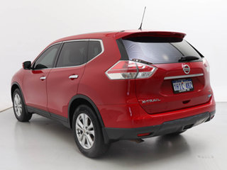 2015 Nissan X-Trail T32 TS (FWD) Red Continuous Variable Wagon