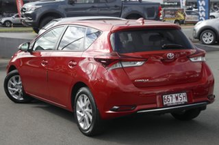 2016 Toyota Corolla ZRE182R Ascent Sport S-CVT Red 7 Speed Constant Variable Hatchback.