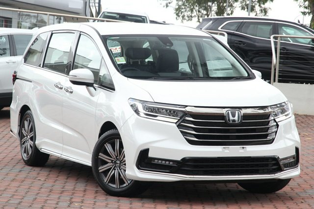 New Honda Odyssey RC 21YM Vi L7 Indooroopilly, 2021 Honda Odyssey RC 21YM Vi L7 Obsidian Blue 7 Speed Constant Variable Wagon