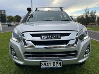 2017 Isuzu D-MAX MY17 LS-M Crew Cab Silver 6 Speed Sports Automatic Utility.