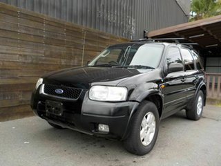 2004 Ford Escape ZB Limited Black 4 Speed Automatic SUV