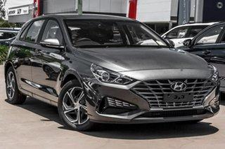 2021 Hyundai i30 PD.V4 MY21 Grey 6 Speed Sports Automatic Hatchback.