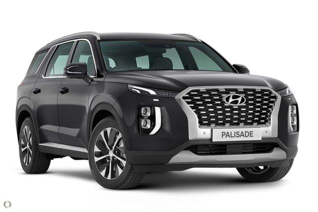 New Hyundai Palisade LX2.V1 MY21 AWD Oakleigh, 2021 Hyundai Palisade LX2.V1 MY21 AWD Grey 8 Speed Sports Automatic Wagon