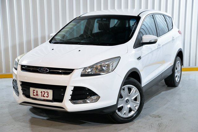 Used Ford Kuga TF Ambiente AWD Hendra, 2014 Ford Kuga TF Ambiente AWD White 6 Speed Sports Automatic Wagon