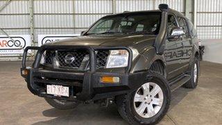 2007 Nissan Pathfinder R51 MY07 ST-L Silver 5 Speed Sports Automatic Wagon.