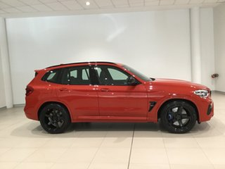 2019 BMW X3 M F97 Competition M Steptronic M xDrive Toronto Red/leather 8 Speed Sports Automatic.