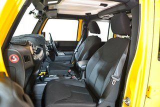 2014 Jeep Wrangler JK MY2014 Unlimited Sport Yellow 5 Speed Automatic Softtop