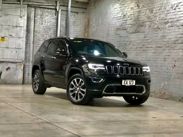 Used Jeep Grand Cherokee WK MY17 Limited Mile End South, 2017 Jeep Grand Cherokee WK MY17 Limited Black 8 Speed Sports Automatic Wagon