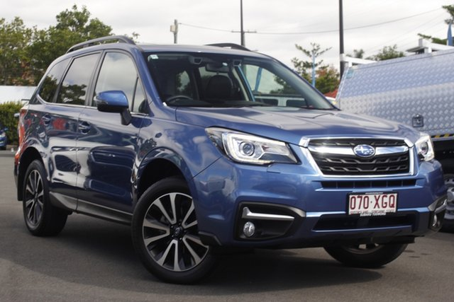 Used Subaru Forester S4 MY17 2.5i-S CVT AWD Mount Gravatt, 2017 Subaru Forester S4 MY17 2.5i-S CVT AWD Quartz Blue 6 Speed Constant Variable Wagon