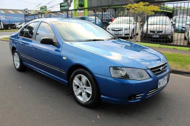 Used Ford Falcon BF Mk II XT West Footscray, 2007 Ford Falcon BF Mk II XT Blue 4 Speed Sports Automatic Sedan