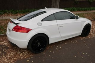 2008 Audi TT 8J MY09 S Tronic White 6 Speed Sports Automatic Dual Clutch Coupe
