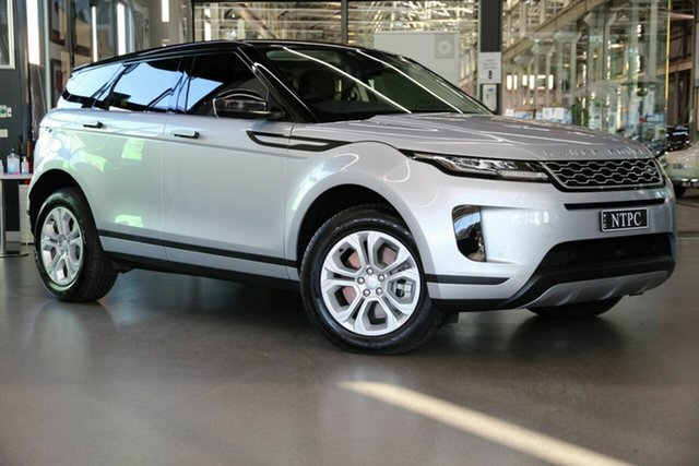 Used Land Rover Range Rover Evoque L551 MY20 D150 S North Melbourne, 2019 Land Rover Range Rover Evoque L551 MY20 D150 S Silver 9 Speed Sports Automatic Wagon