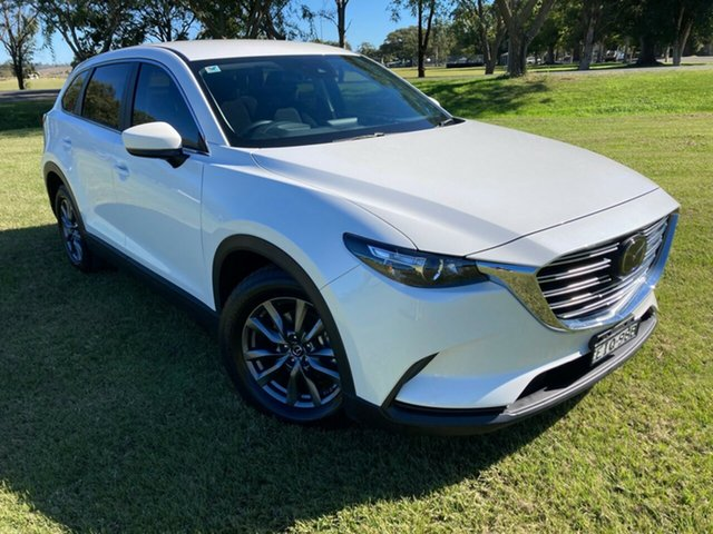 Used Mazda CX-9 TC Sport SKYACTIV-Drive i-ACTIV AWD South Grafton, 2019 Mazda CX-9 TC Sport SKYACTIV-Drive i-ACTIV AWD White 6 Speed Sports Automatic Wagon
