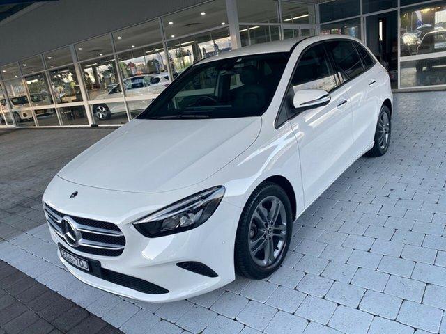Used Mercedes-Benz B-Class B180 Taree, 2019 Mercedes-Benz B-Class B180 White Sports Automatic Dual Clutch Hatchback