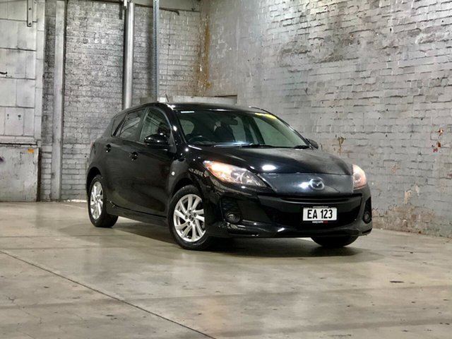 Used Mazda 3 BL10F2 MY13 Maxx Activematic Sport Mile End South, 2013 Mazda 3 BL10F2 MY13 Maxx Activematic Sport Black 5 Speed Sports Automatic Hatchback