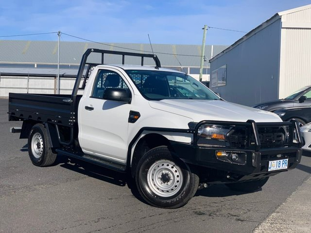 Used Ford Ranger PX MkII XL Moonah, 2016 Ford Ranger PX MkII XL White 6 Speed Sports Automatic Cab Chassis