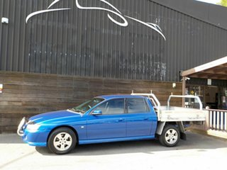 2006 Holden Crewman VZ MY06 S Blue 4 Speed Automatic Utility.