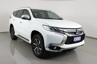 2018 Mitsubishi Pajero Sport MY18 Exceed (4x4) 7 Seat White 8 Speed Automatic Wagon.