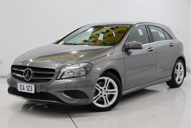 Used Mercedes-Benz A-Class W176 805+055MY A180 D-CT Brooklyn, 2015 Mercedes-Benz A-Class W176 805+055MY A180 D-CT Grey 7 Speed Sports Automatic Dual Clutch