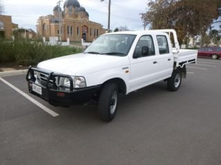 2003 Ford Courier PG GL White Manual Cab Chassis.