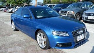 2009 Audi A4 B8 8K MY10 Multitronic Blue 8 Speed Constant Variable Sedan.