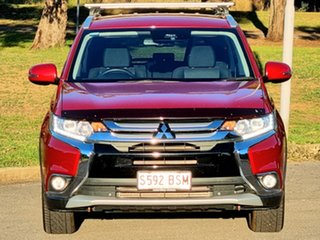 2017 Mitsubishi Outlander ZK MY17 LS 4WD Safety Pack Red Metallic 6 Speed Sports Automatic Wagon.