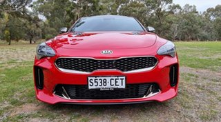 2018 Kia Stinger CK MY19 GT Fastback Red 8 Speed Sports Automatic Sedan.