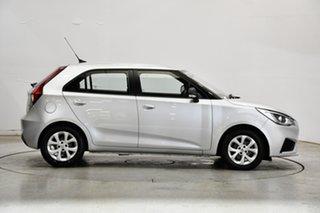 2020 MG MG3 SZP1 MY20 Core (Nav) Scottish Silver 4 Speed Automatic Hatchback