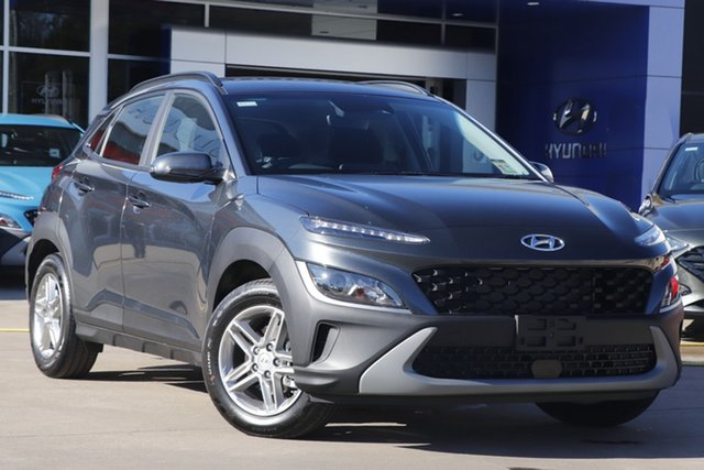 New Hyundai Kona Os.v4 MY21 2WD Toowoomba, 2021 Hyundai Kona Os.v4 MY21 2WD Dark Knight 8 Speed Constant Variable Wagon