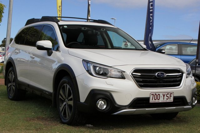 Used Subaru Outback B6A MY18 2.5i CVT AWD Premium Aspley, 2018 Subaru Outback B6A MY18 2.5i CVT AWD Premium White 7 Speed Constant Variable Wagon