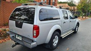 2008 Nissan Navara D40 ST-X (4x4) Silver 5 Speed Automatic Dual Cab Pick-up