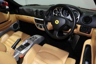 2003 Ferrari 360 Spider F1 Red 6 Speed Seq Manual Auto-Clutch Convertible