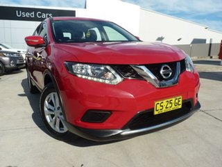2017 Nissan X-Trail T32 Series II ST X-tronic 4WD Red 7 Speed Constant Variable Wagon.