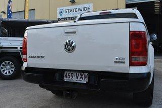 2011 Volkswagen Amarok 2H MY12 TDI400 Highline (4x4) White 6 Speed Manual Dual Cab Utility
