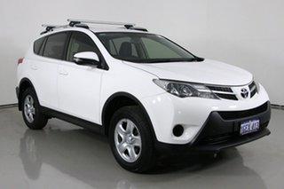 2015 Toyota RAV4 ASA44R MY14 Upgrade GX (4x4) White 6 Speed Automatic Wagon.