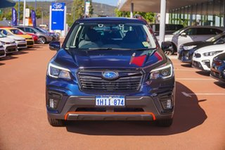 2021 Subaru Forester S5 2.5i Sport Blue Constant Variable SUV.