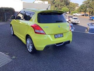2016 Suzuki Swift FZ MY15 Sport Yellow 7 Speed Constant Variable Hatchback