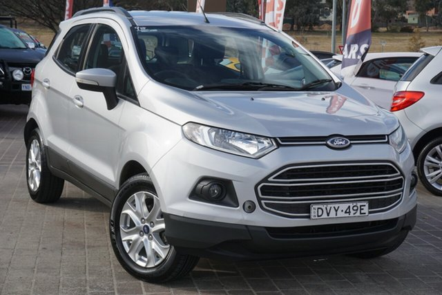 Used Ford Ecosport BK Trend PwrShift Phillip, 2014 Ford Ecosport BK Trend PwrShift Silver 6 Speed Sports Automatic Dual Clutch Wagon