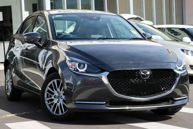 New Mazda 2 DJ2HAA G15 SKYACTIV-Drive GT Wollongong, 2021 Mazda 2 DJ2HAA G15 SKYACTIV-Drive GT Machine Grey 6 Speed Sports Automatic Hatchback