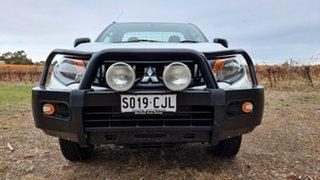 2016 Mitsubishi Triton MQ MY16 GLX 4x2 White 6 Speed Manual Cab Chassis.