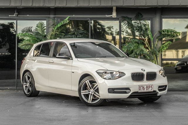 Used BMW 1 Series F20 MY0713 116i Steptronic Bowen Hills, 2014 BMW 1 Series F20 MY0713 116i Steptronic White 8 Speed Sports Automatic Hatchback